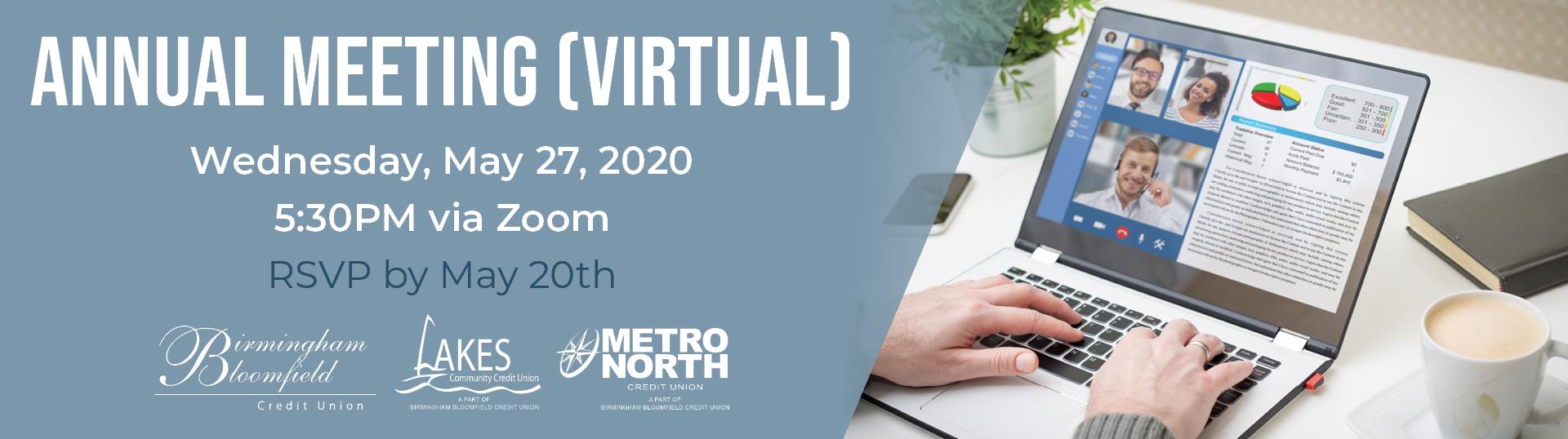 Annual Meeting Virtual Banner