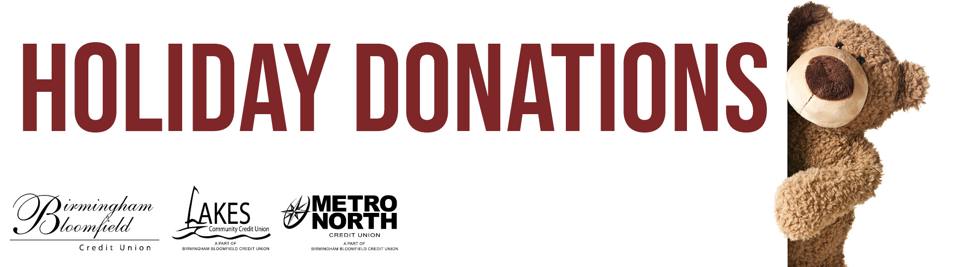 holiday donations image